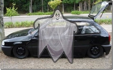 A lenda do carro fantasma