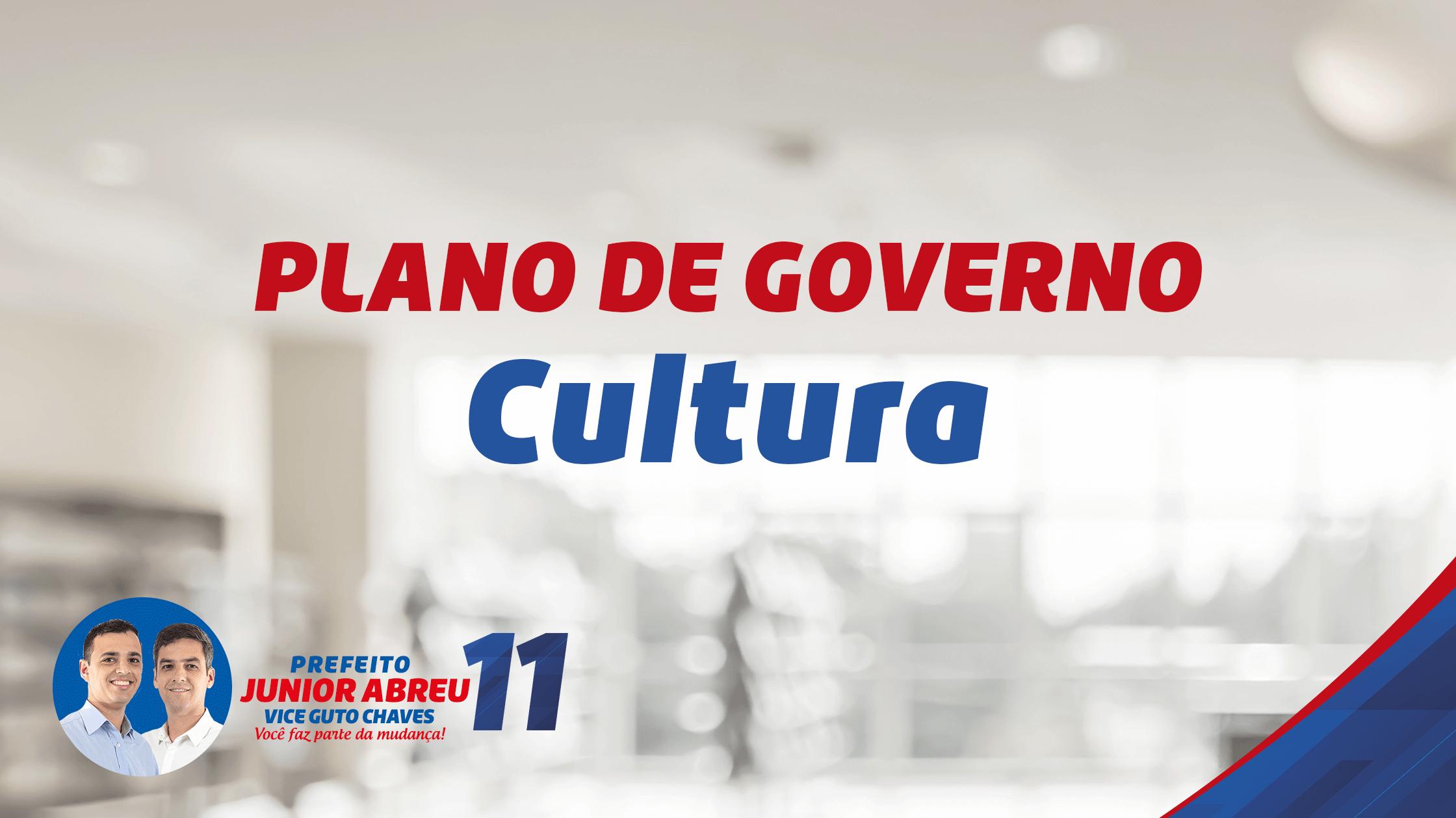Plano de Governo – Esporte e Cultura